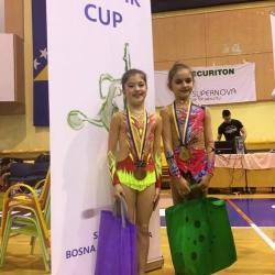 Mia Gvozden i Lorena Hržan Keglević