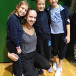 Ariana Hubert, balerina Anja Garašić, Lorena Hržan Keglević i Mia Gvozden