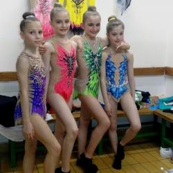 Ariana Hubert, Karla Stričak, Mia Gvozden i Lorena Hržan Keglević