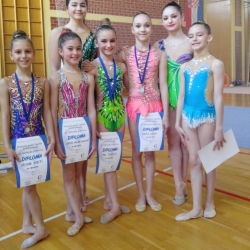 Ariana Hubert,Lorena Hržan-Keglević, Maria Perša,Mia Gvozden,Bianca Gajšak, Nera Štrbac i Karla Stričak