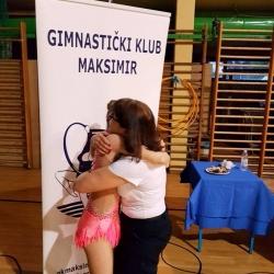 Bianca Gajšak i prof Gordana Cimaš