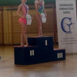 Bianca Gajšak višebojsko prvenstvo Zagreba 2018