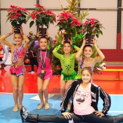 Christmas cup 2016 Mia Gvozden,Bianca Gajšak, Hana Kosanović, Nera Štrbac i Maria Perša