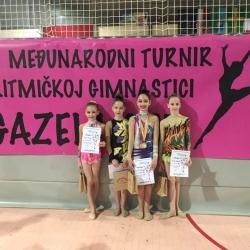 Karla Stričak,Lara Ćorluka,Sara Ćorluka i Bruna Franjković