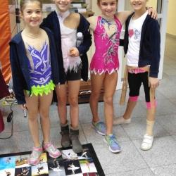 Lorena Hržan Keglević, Hana Kosanović, Mia Gvozden i Bianca Gajšak