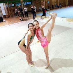 Maria Perša i Bianca Gajšak