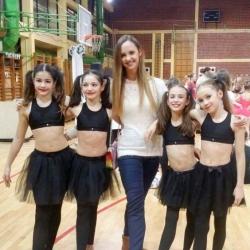Maria Perša, Nera Štrbac, balerina Anja Garašić, Hana Kosanović i Bianca Gajšak