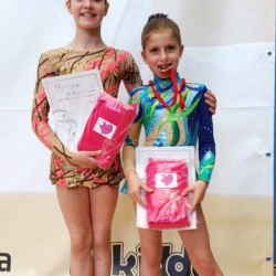 Maša Lepur i Maria Pezelj