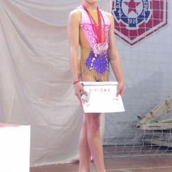 Mia Gvozden, 1st Young talents cup BG 2018