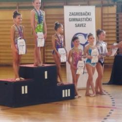 Mia Gvozden, Ariana Hubert, Lorena Hržan-Keglević i Karla Stričak višebojsko prvenstvo Zagreba 2018