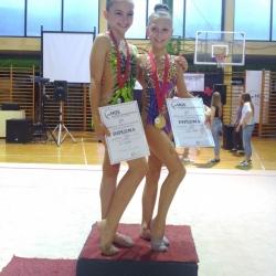 Mia Gvozden i Ariana Hubert