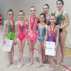 Mia Gvozden, Karla Stričak, Bianca Gajšak, Nera Štrbac, Lorena Hržan Keglević, Maria Perša i Ariana Hubert