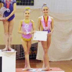 Mia i Ana 3.mjesto ekipno Young talents cup2018