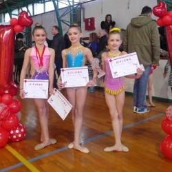 Mia, Karla i Ana 1st Young talents cup BG2018