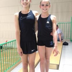 Siena Gančev i Mia Gvozden